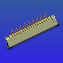1.0mm間距帶鎖直針抽屜式FPC