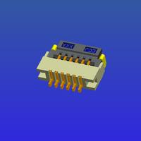 0.5mm间距1.2高T1掀盖式FPC