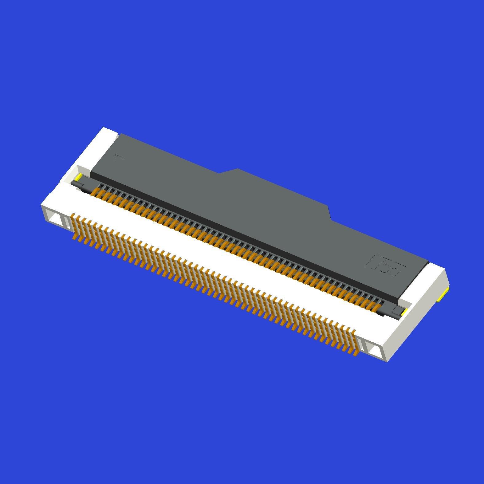 0.5mm間距2.1高掀蓋式FPC(EMI)