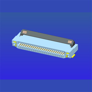 0.5mm間距2.0高前插后掀式FPC