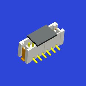 ZH1.5mm Pitch 圓針立貼 WTB