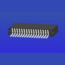 1.25mm間距C型臥貼雙面接FPC